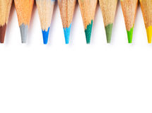 Bleistiftoberteile Lizenzfreie Stockfotos