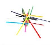 Bleistiftpyramide Lizenzfreies Stockfoto