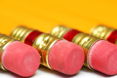 Bleistiftradiergummis Stockbilder