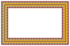 Bleistiftrahmen Lizenzfreies Stockfoto