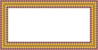 Bleistiftrahmen Stockfoto
