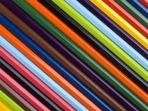 Bleistiftregenbogen Stockfotografie