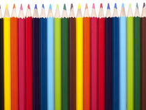 Bleistiftreihe Lizenzfreies Stockbild