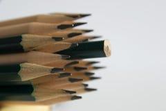 Bleistiftscharfstock Lizenzfreie Stockfotos