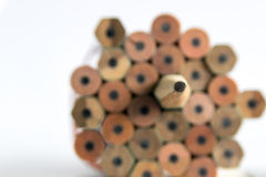 Bleistiftscharfstock Lizenzfreie Stockbilder