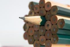Bleistiftscharfstock Stockfotos