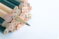 Bleistiftscharfstock Stockfoto