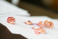 Bleistiftschrott Lizenzfreie Stockbilder