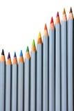Bleistiftspektrum Stockbild