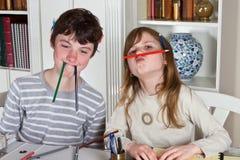 Bleistiftspiel Lizenzfreie Stockfotografie