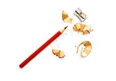 Bleistiftspitzend Lizenzfreies Stockfoto