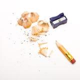 Bleistiftspitzend Lizenzfreies Stockbild