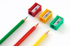 Bleistiftspitzer   Stockfoto
