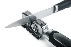 Bleistiftspitzer für Messer Lizenzfreie Stockbilder