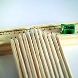 Bleistiftspitzer und Machthaber Lizenzfreie Stockbilder