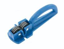 Bleistiftspitzermesser Stockfoto