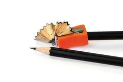 Bleistiftspitzerschnitzel Lizenzfreies Stockbild
