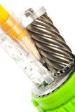 Bleistiftspitzervorrichtung Lizenzfreie Stockbilder