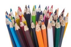 Bleistiftteam Lizenzfreies Stockbild