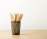 Bleistifttopf Lizenzfreie Stockfotografie
