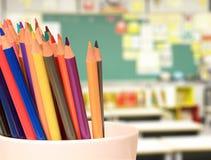 Bleistiftzeichenstifte Lizenzfreies Stockfoto