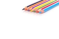 Bleistiftzeichenstifte Stockfotografie