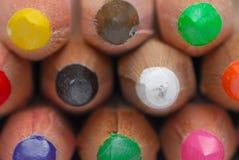 Bleistiftzeichenstifte Stockbild