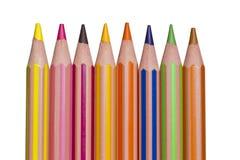 Bleistiftzeichenstifte Lizenzfreies Stockbild