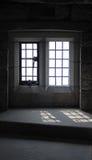 Bleiverglasungsfenster und -einfassung Stockfotos