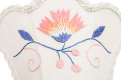Blekinge embroidery Stock Photography