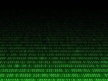 Blekna binär bakgrund Royaltyfri Foto