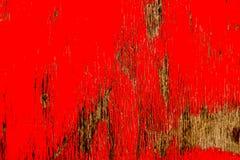 Blekna röd målarfärg Royaltyfria Foton