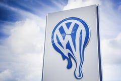 Blekna VW arkivfoton