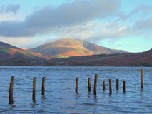 Blencathra and Derwentwater Royalty Free Stock Photos
