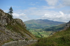 Blencathra fiel Stockbilder