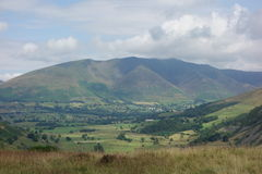 Blencathra from High Rigg Stock Image