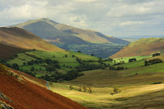 Blencathra from Newlands Hause Royalty Free Stock Photography