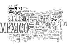 A Blend Of The Old And The New Word Cloud. A BLEND OF THE OLD AND THE NEW TEXT WORD CLOUD CONCEPT stock illustration