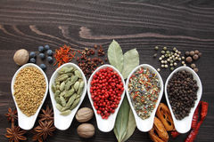 Blend of spices Stock Photo