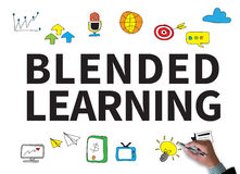 BLENDED LEARNING Stock Photography