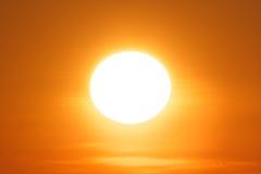 Blendend Abendsonne 1 Lizenzfreies Stockfoto