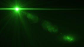 Blendenflecklicht über schwarzem Hintergrund Einfach, Überlagerung zu addieren vektor abbildung