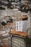 Blendenverschlüsse in Dubrovnik, Kroatien Stockfoto