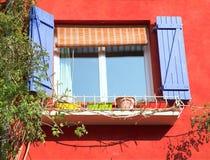 Blendenverschlußfenster Stockfotografie