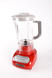 Blender. A red blender isolated on white background stock photography