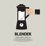 Blender Home Appliance. Vector Illustration Royalty Free Stock Images