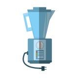 Blender kitchen appliance shadow. Illustration eps 10 Royalty Free Stock Photo