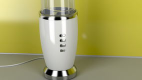Blender in the kitchen stock video