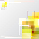 Blending squares background. Design in yellow color theme Stock Photos