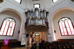 Blenduk Church Semarang Interior Royalty Free Stock Images